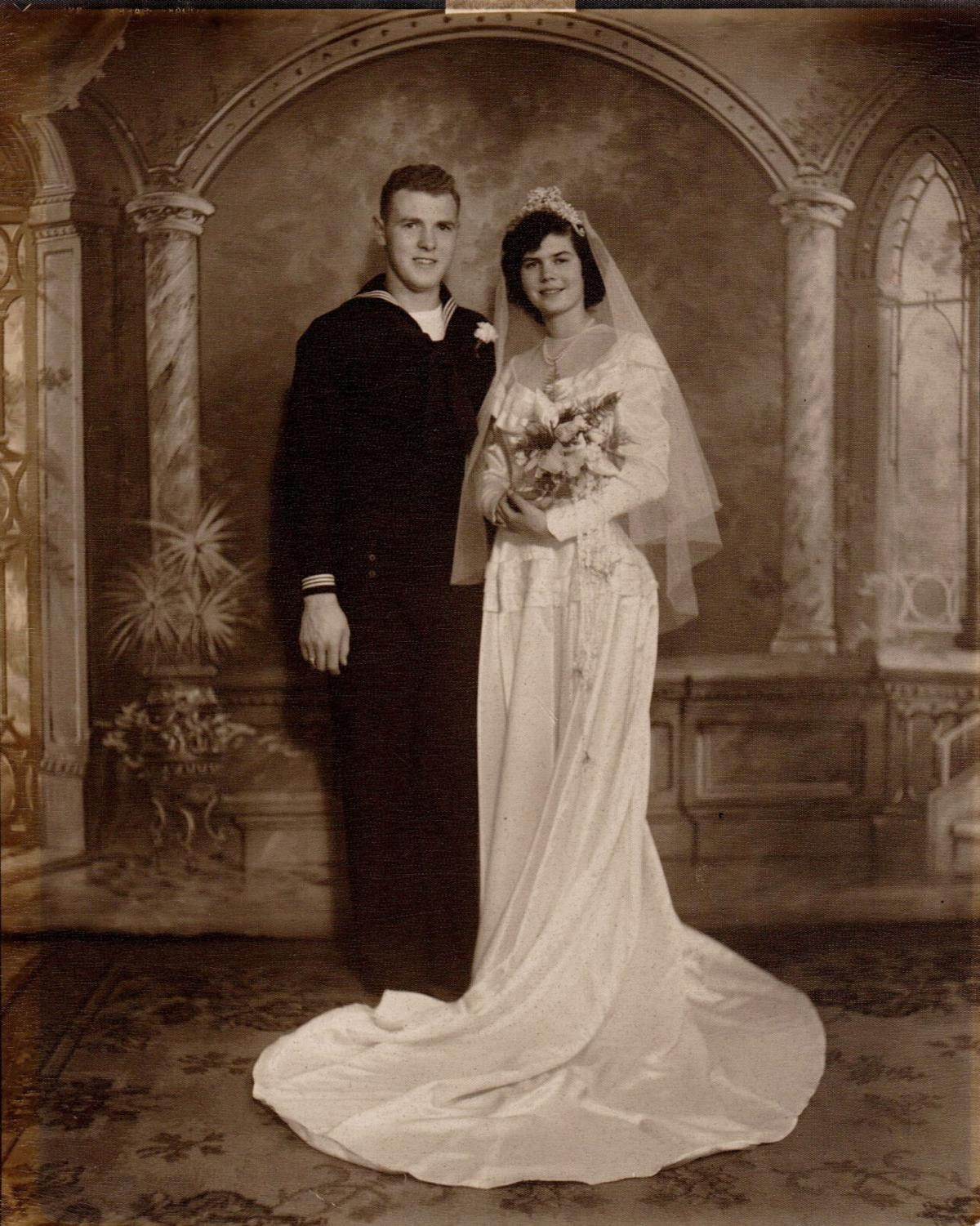 Mr. and Mrs. Frederick D. LaClair, 70 years