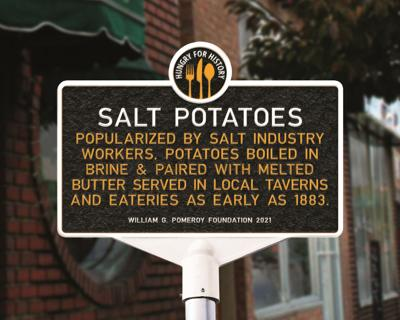 Salt potatoes make mark on history