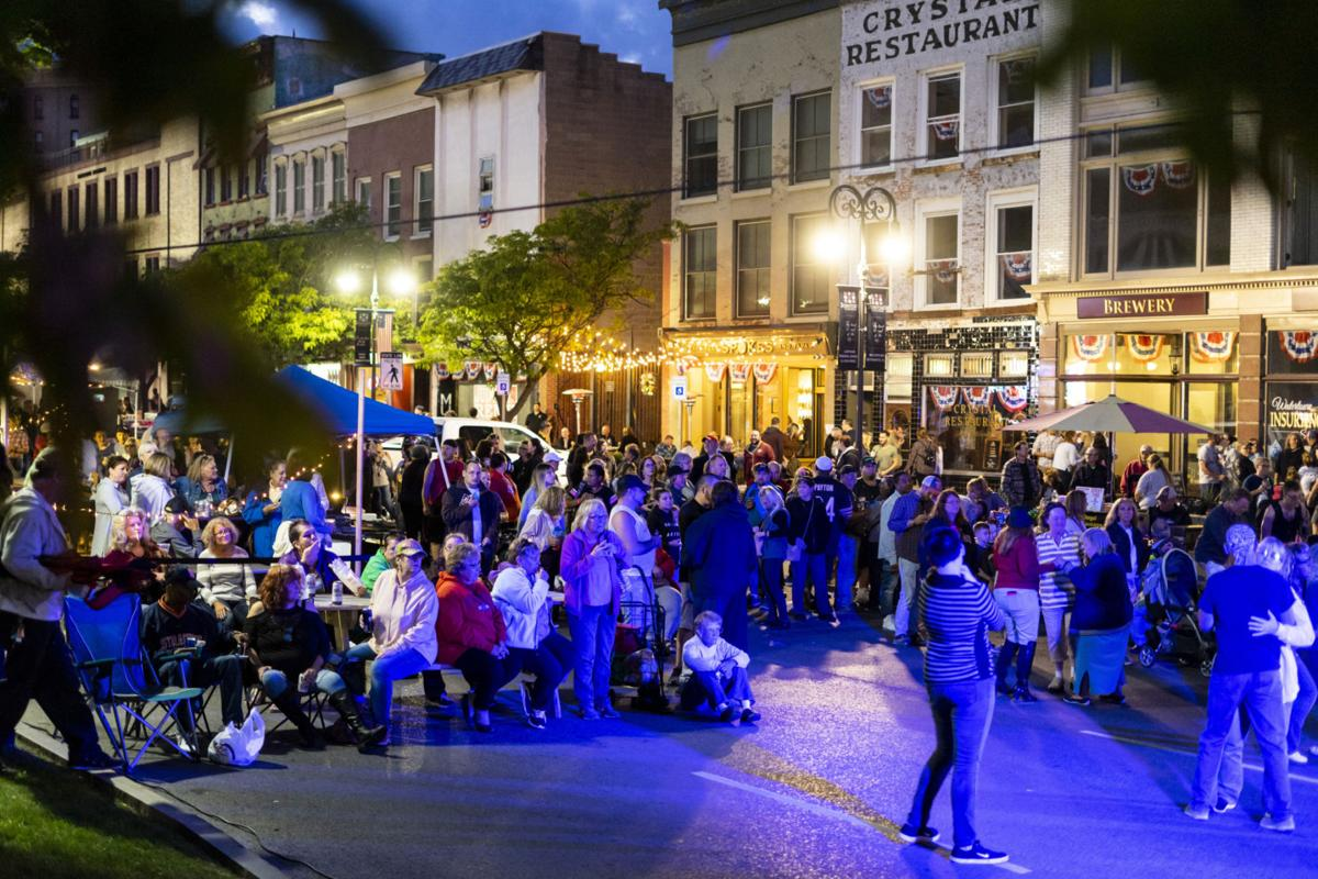 Summer's last block party attracts hundreds