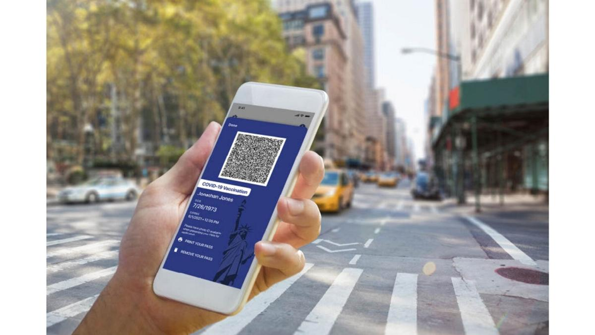 N.Y. launches 'COVID passport'