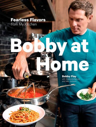 Bobby Flay's Eggplant Bolognese is meatless but hearty