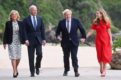 Odd couple renews U.S.-U.K. bond