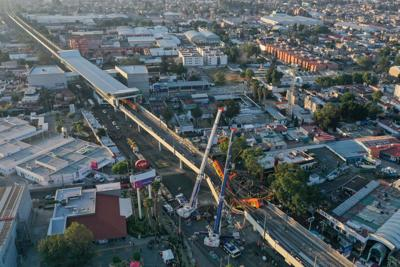 At least 23 dead, scores injured when Mexico City Metro overpass collapses