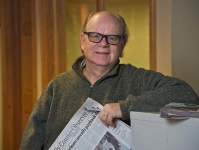 Giant colon replica saved editor's life