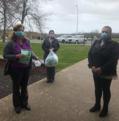 Office for the Aging is distributing face masks to seniors