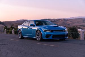 Dodge Charger Scat Pack Widebody is truly a wayback machine.