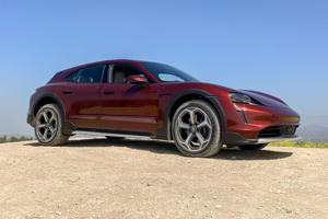 With world's first electric station wagon, Porsche delivers on utility.