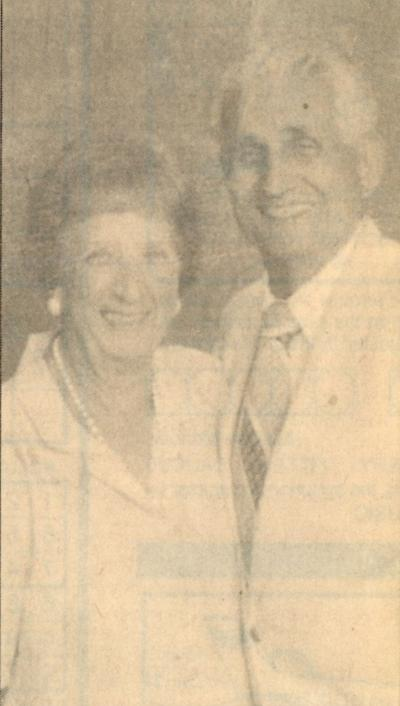 Mr. and Mrs. Frederick Benedetto, 70 years