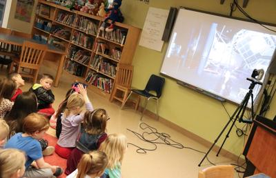 Lanigan first-graders learn about astronomy
