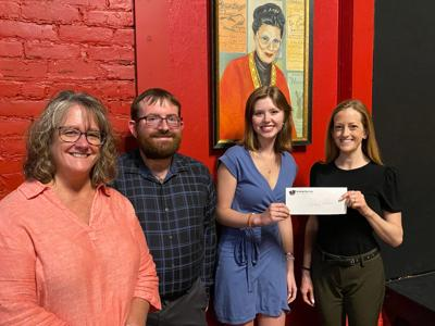Oswego Players award Audrey Hinman two theater scholarships