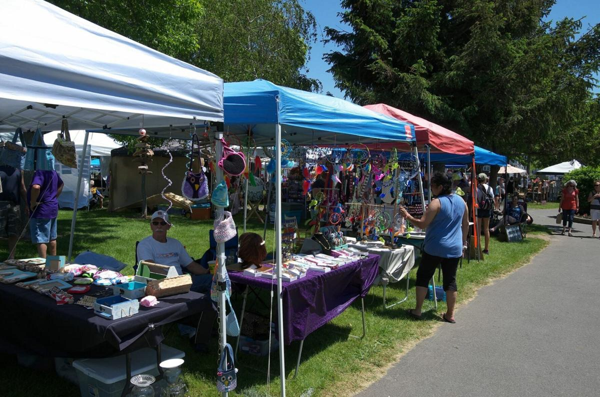 The River's Edge Craft Show hosted by The Oswego Lions Club, June 13