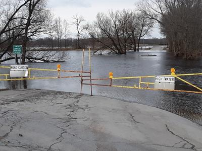 Black River flooding still has some Lewis County roads closed