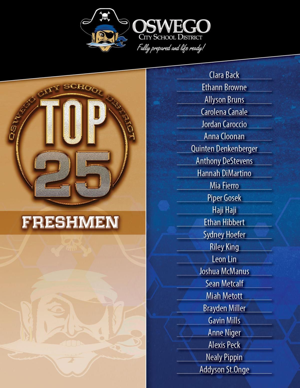 Oswego High School celebrates top 100 students