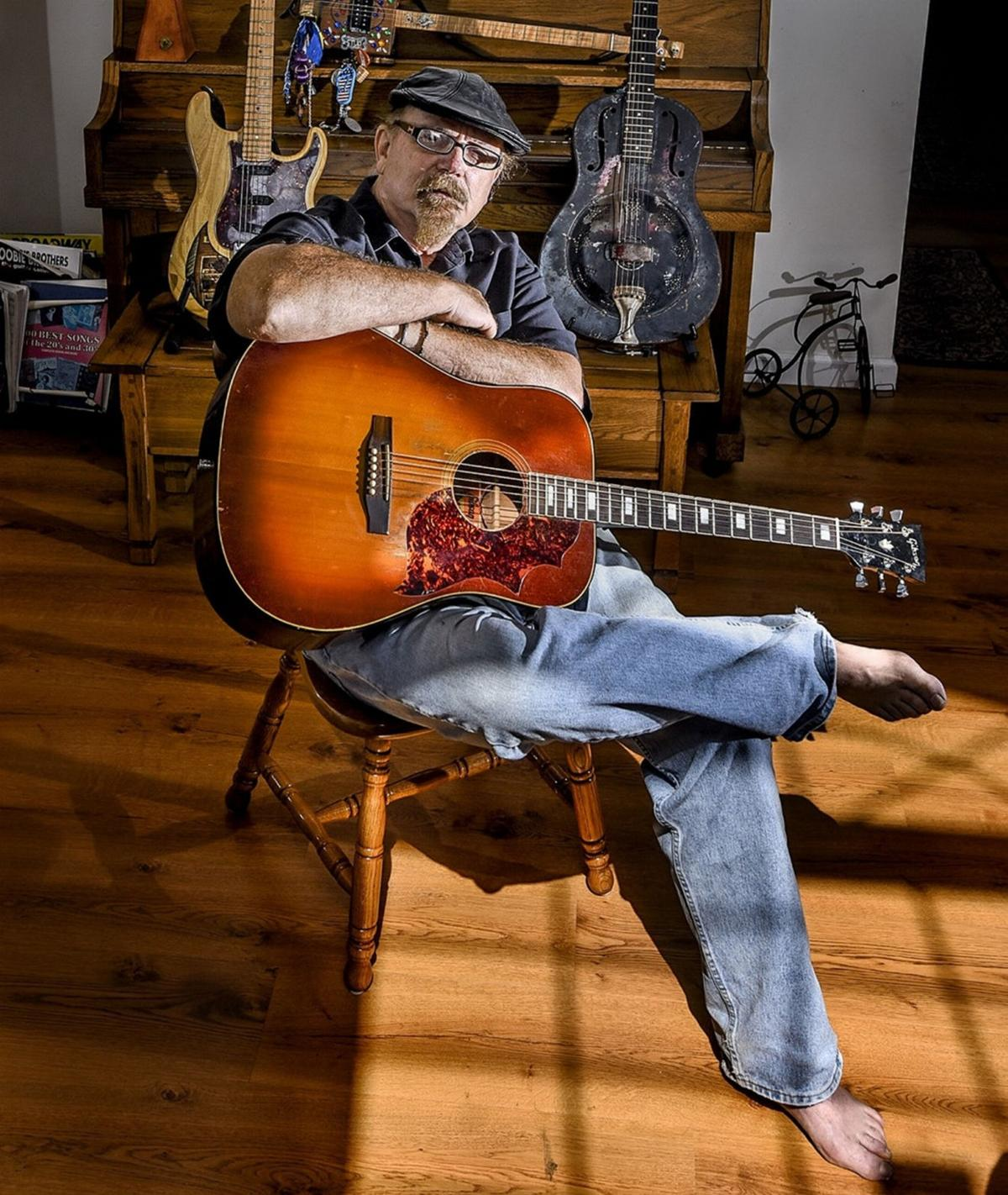 With dogged determination, bluesman pens 'Bubba' tale