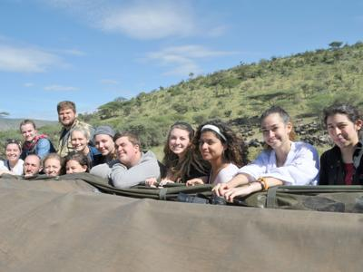 SUNY Oswego students learn about conservation, biology traveling Tanzania