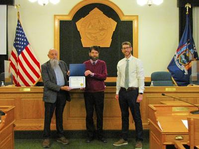 County recognizes Justin White