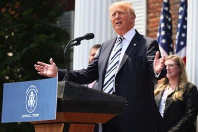 Trump hurts one achievement