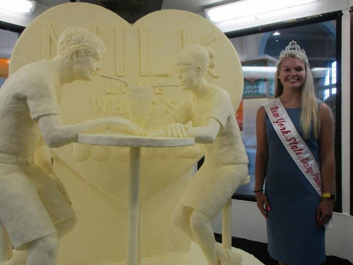 New York state will have a butter sculpture in 2020