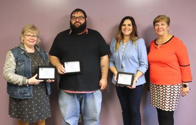 OCO corporate services staff recognized for years of service