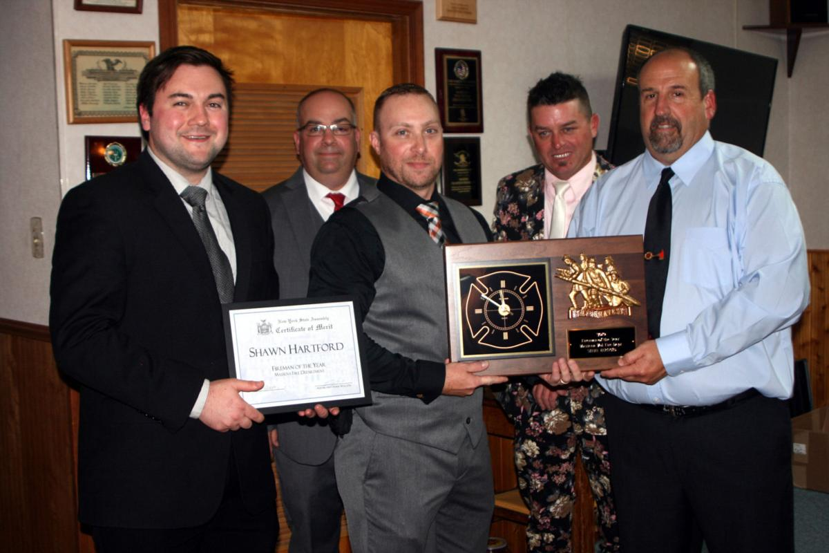 Massena Volunteer Fire Department honors firefighter of the year and others
