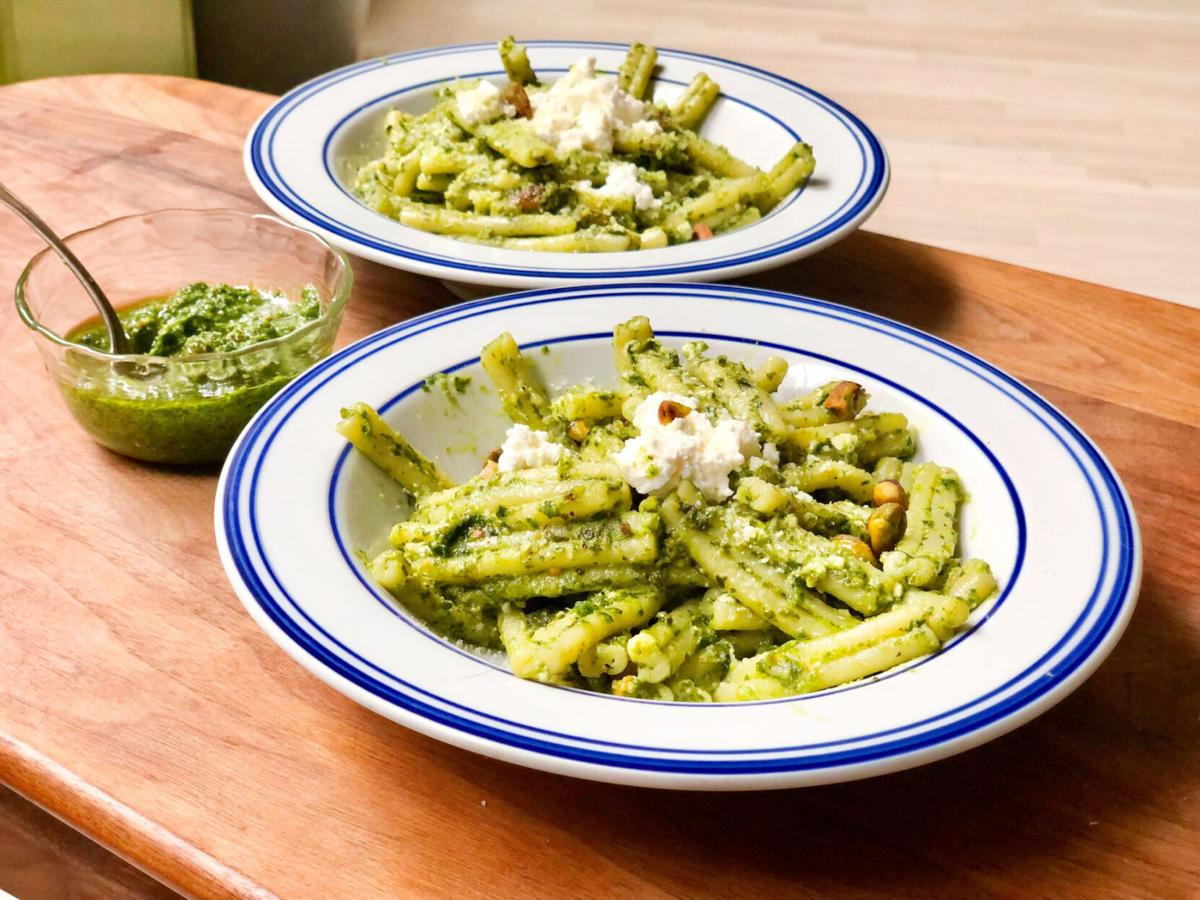 Add a refreshing twist to pesto