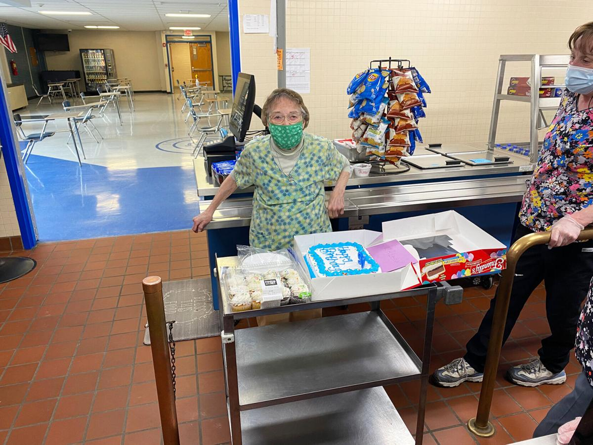 Lunch lady turns 90