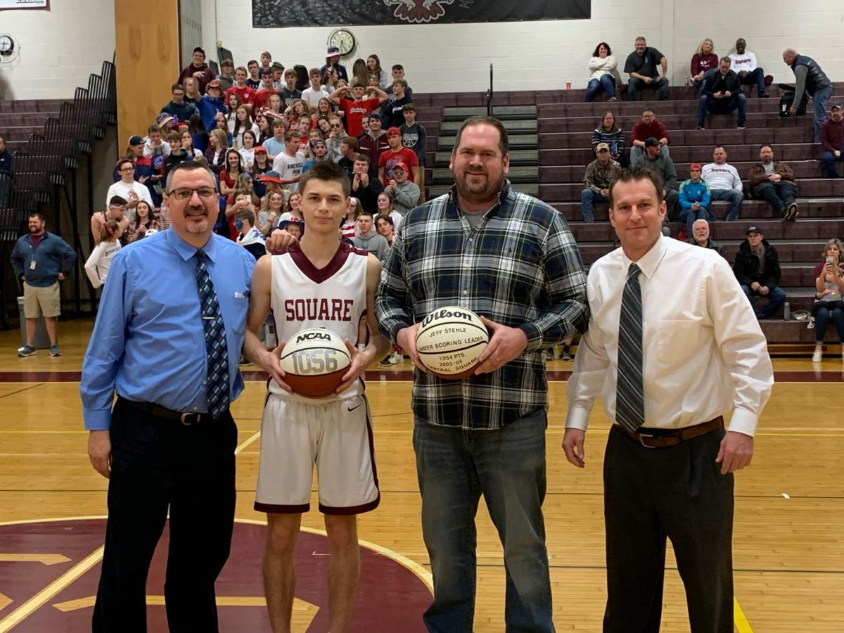 Giblin becomes all-time leading scorer for the Redhawks