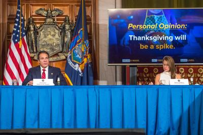 Cuomo says travel, holiday gatherings risk spreading virus