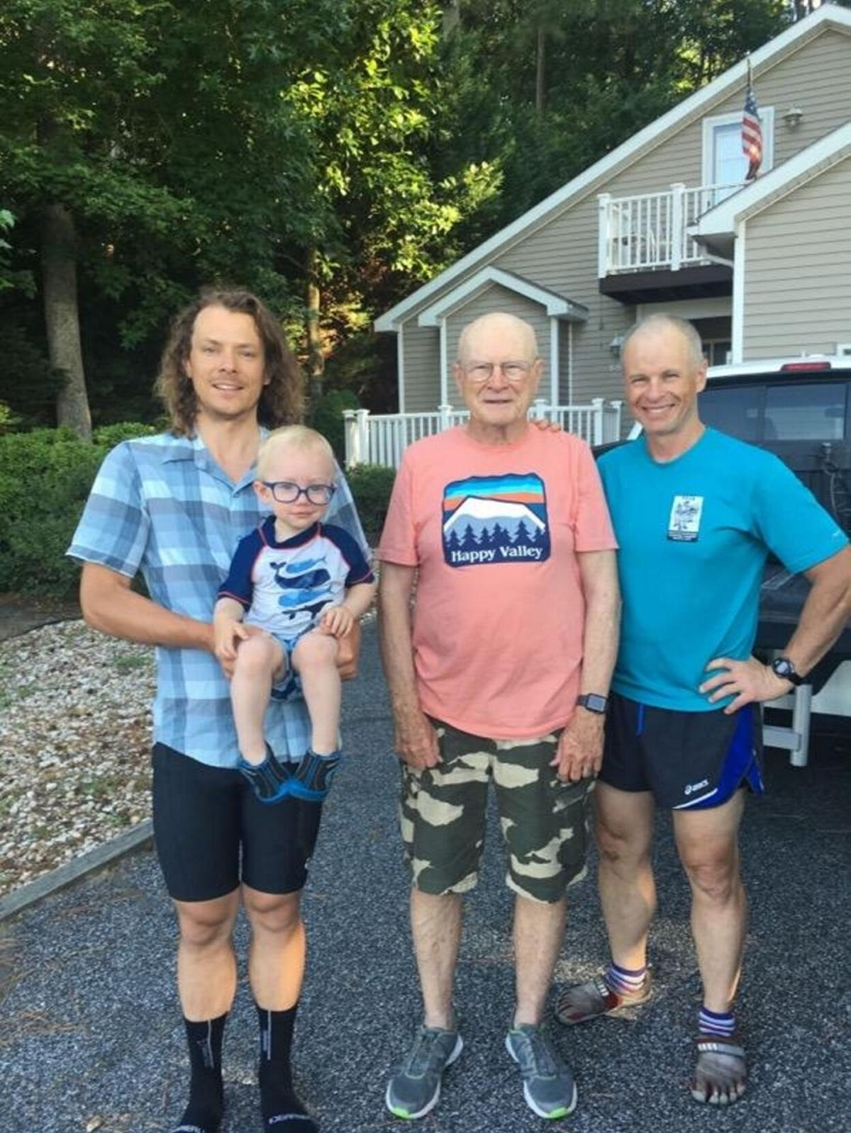 Grandfather to cycle for 24 hours as fundrasier for two-year-old grandson
