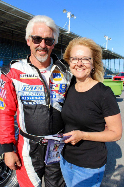 LaFave makes emotional return to Oswego Speedway after fiery wreck