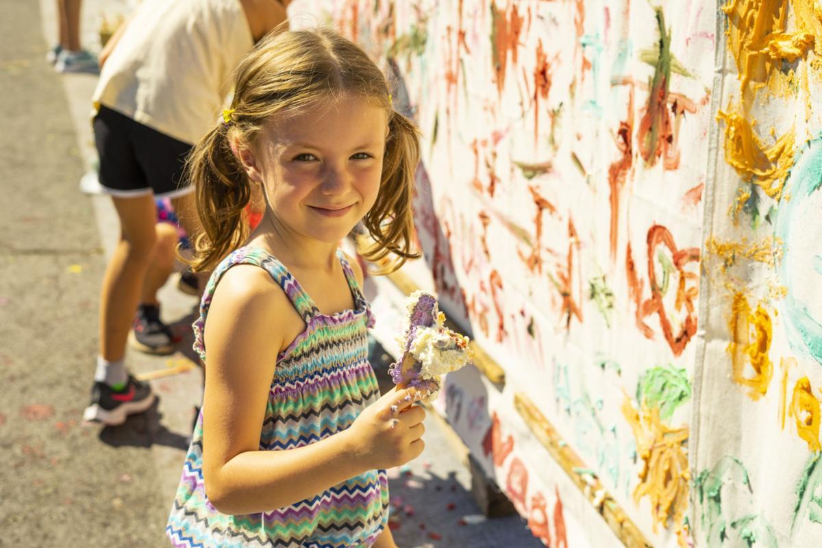 Cream cheesy fun in the sun at Lowville festival