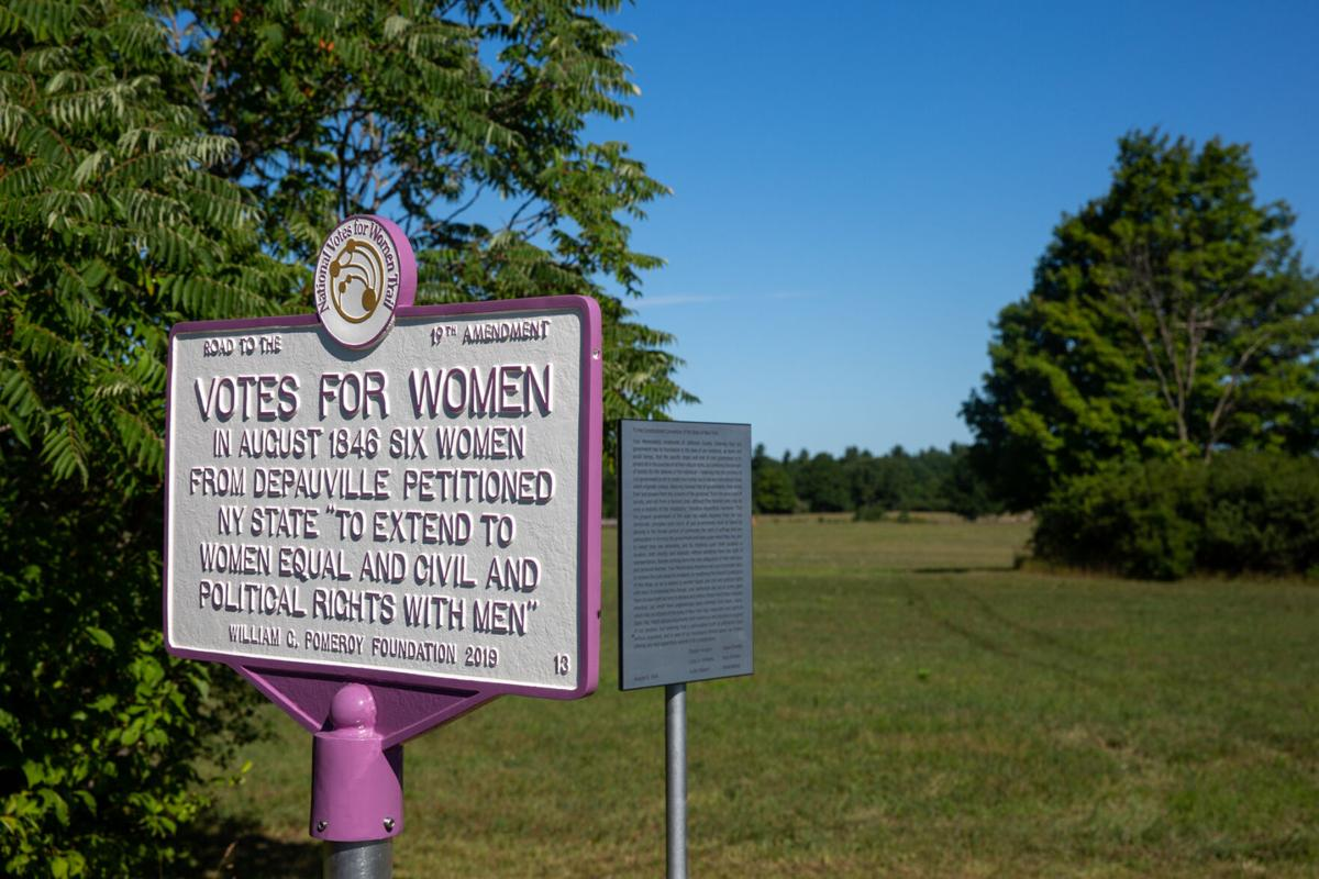 Suffrage pioneers honored