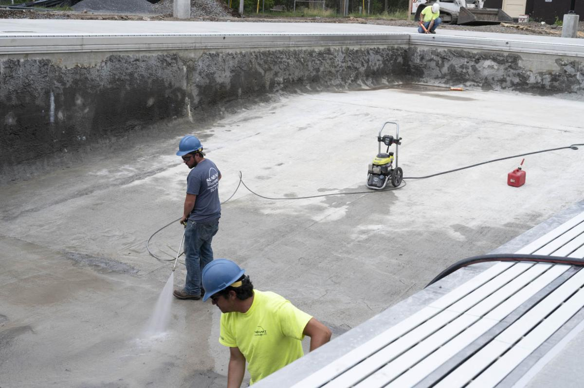 New pool could open in August