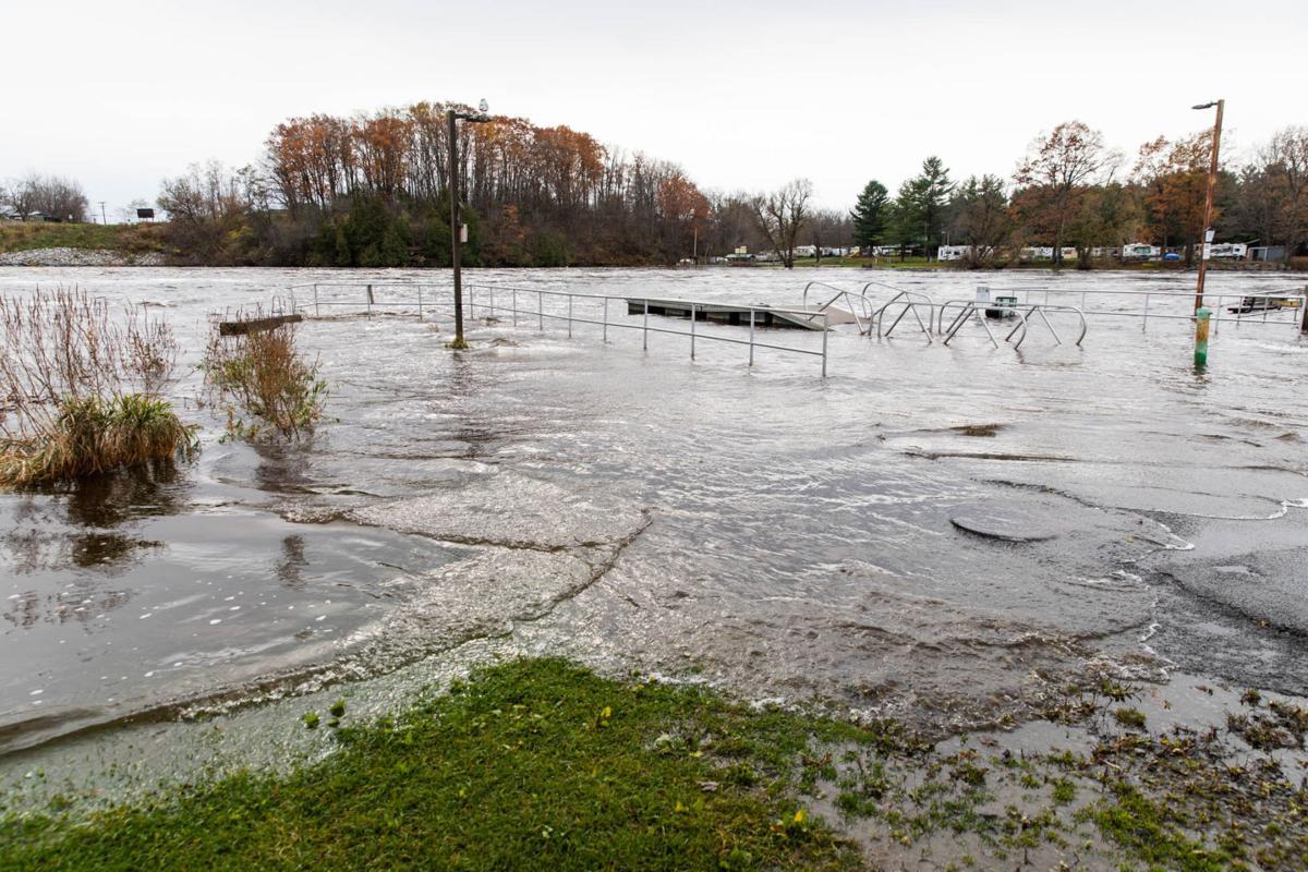 Flooding, wind damage cleanup underway
