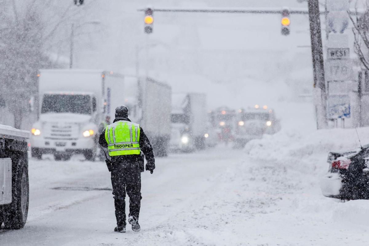 Tractor-trailer ban on Route 81 causes Adams traffic woes