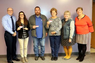 OCO staff recognized for two years of service