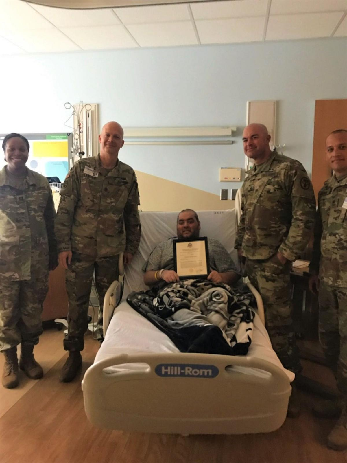 Church rallies to help soldier with cancer