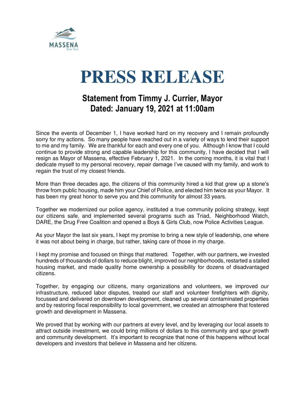 PRESS Release---Mayor Currier---01-19-21.pdf