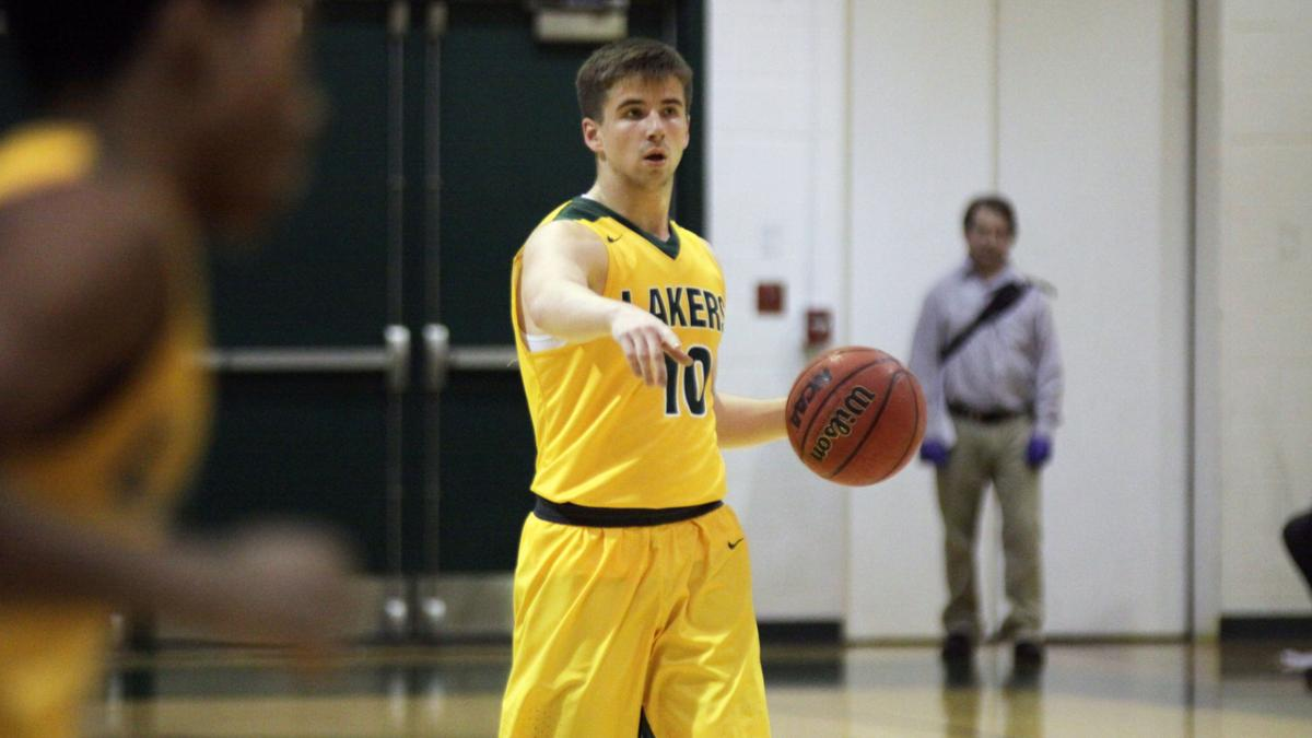 Sanborn's strong will guides Lakers into season opener