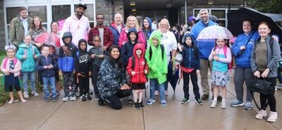 OCSD celebrates Walk to School Day