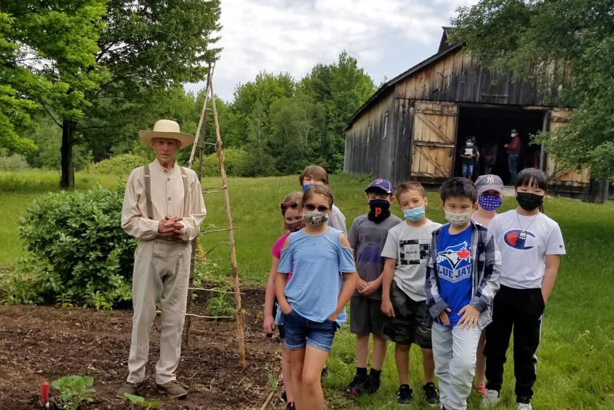 Potsdam students visit Almanzo Wilder Farm