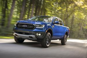 Ford begins early production of small pickup truck.