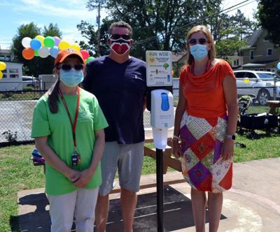 OCO Cancer Prevention Program promoting sun safety at Hulett Park