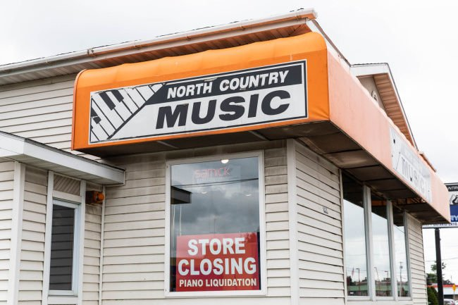 Store changing its tune
