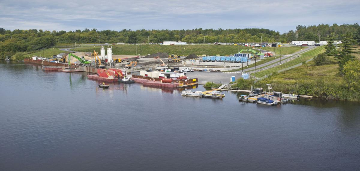 Grasse River remediation activities aired