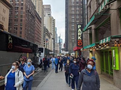 New York on track to contain virus