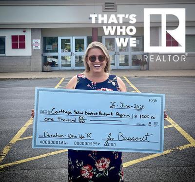 Jennifer Bossuot – $1000 Carthage Backpack Program