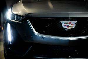 Cadillac unveils electric SUV years before sales start.