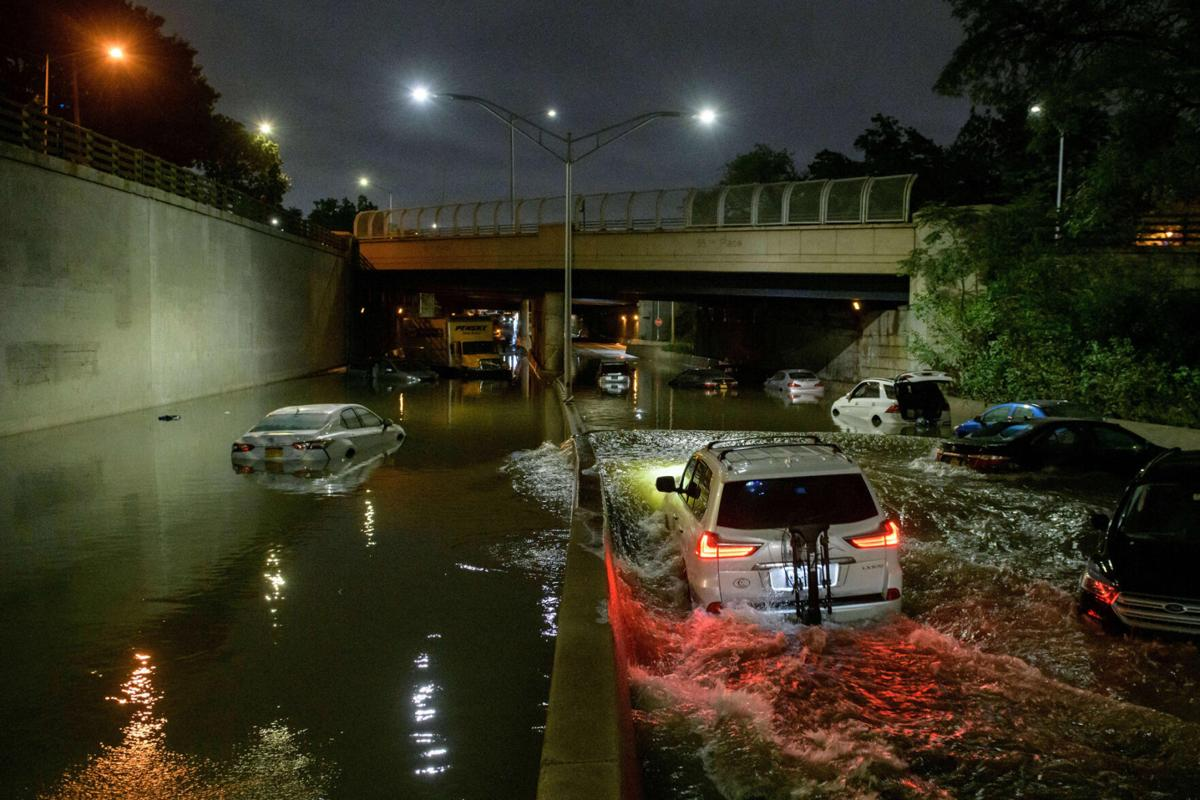 Subway system, apartments flooded