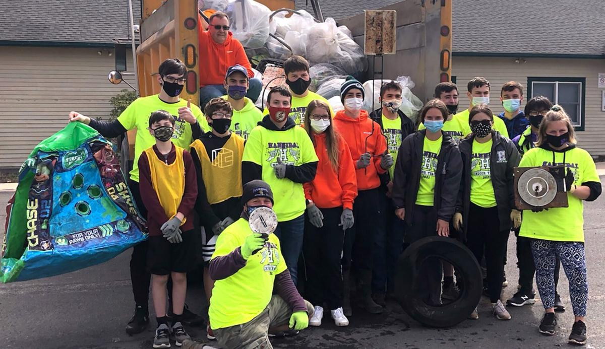 Hannibal students participate in Earth Day activities